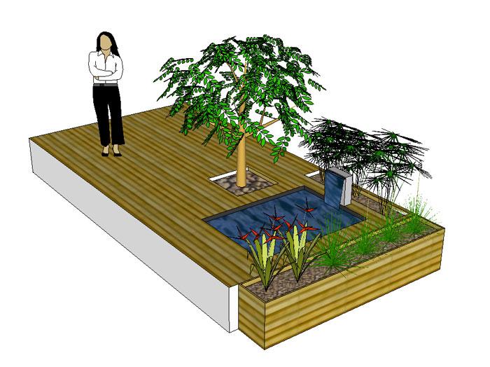 Doyo green doyo for Amenagement terrasse etroite